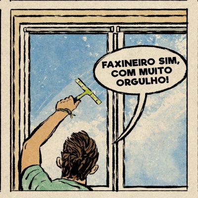 5. FAXINEIRO COM MUITO ORGULHO